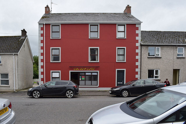 Golden Gate takeaway, Beragh