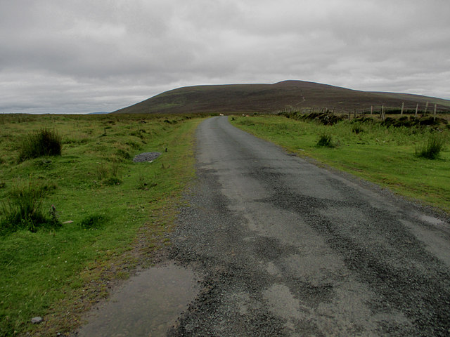 Hill and Road