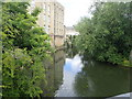 ST8260 : The River Avon from the MacKeever Bridge by Eirian Evans