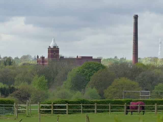 Pear Mill from near Goyt Hall
