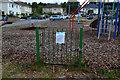 SU1921 : Play area gate... by David Martin