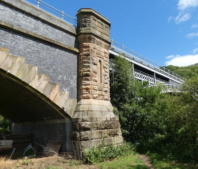 Elan Valley Aqueduct crossing the River Severn