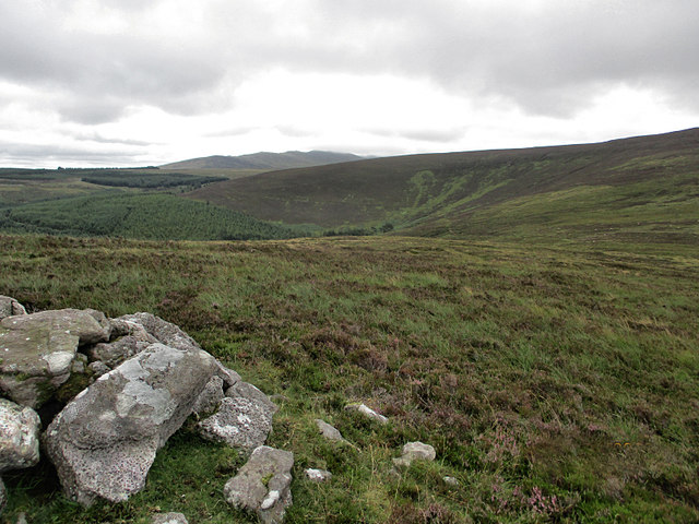 Cairn and Hillside