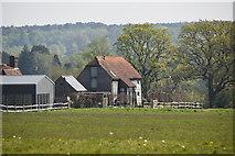TQ5936 : Converted barn, Brook Farm by N Chadwick