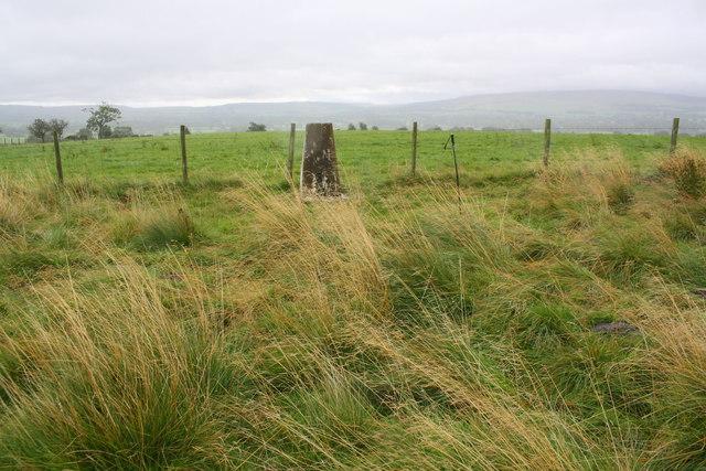 Strutforth Hill trig point