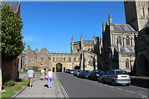 ST5545 : Wells Cathedral  (29) by Chris' Buet