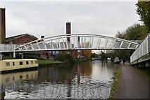 TQ1883 : Footbridge, Grand Union Canal by N Chadwick