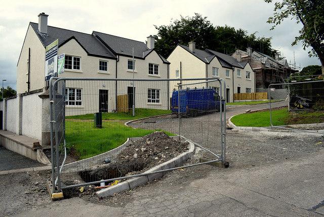 New housing development off Hospital Road, Omagh