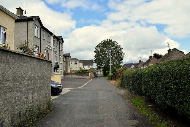 Alley off Woodvale Avenue, Omagh
