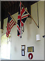 TM1878 : Tribute to 100 Bomb Group in Thorpe Abbotts church by Adrian S Pye