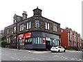 SE2729 : Estate agents, Elland Road, Churwell  by Stephen Craven