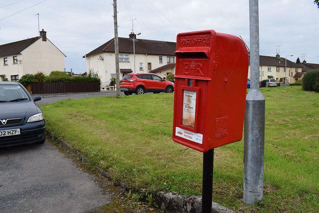 NHS Priority Post Box, Gortrush Park, Omagh