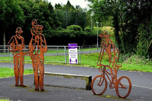 Sculptures, Strathroy Estate, Lisanelly