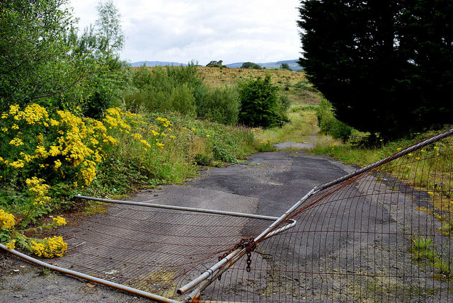 Waste ground, Gortmore, Omagh
