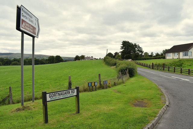Gortnagarn Road, Mountjoy Forest West Division