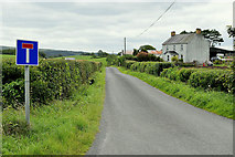 H4277 : Dead end road at Mountjoy Forest West Division by Kenneth  Allen