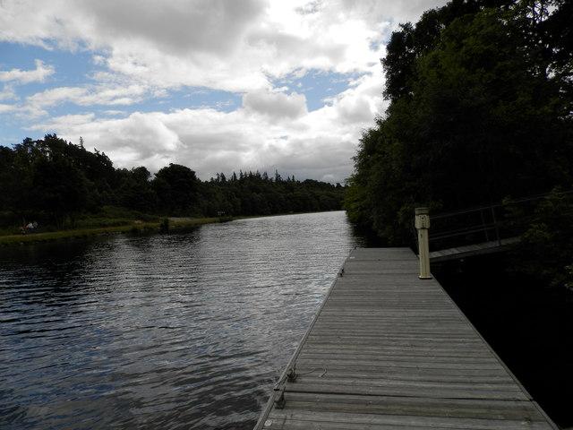 Caledonian Canal at Dochgarroch by Douglas Nelson