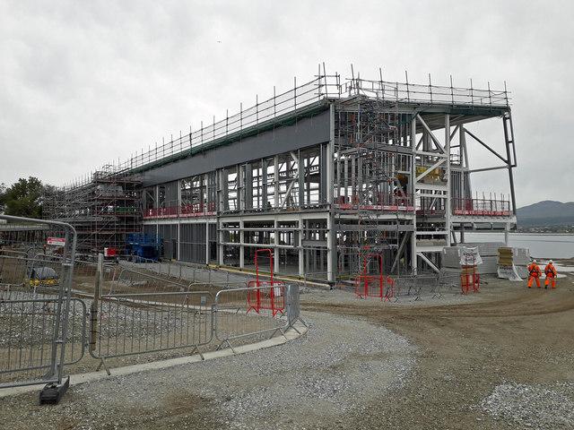 Hospital construction continues