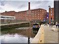 SJ8598 : Rochdale Canal, Murrays' Mills by David Dixon