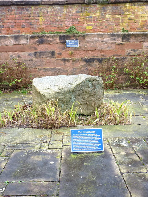 The Great Stone boulder