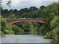 SO7679 : Victoria Bridge crossing the River Severn by Mat Fascione