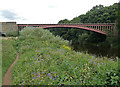 SO7679 : North Worcestershire Path and the Victoria Bridge by Mat Fascione