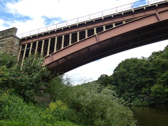 Victoria Bridge and the River Severn