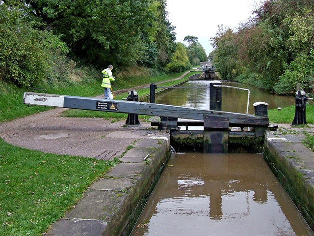 Audlem Locks No 9 in Cheshire