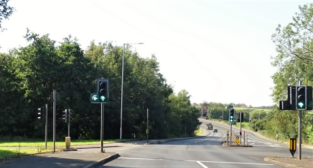 The turning onto Armadale Road