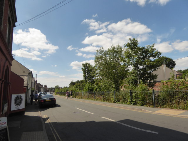 Looking west-northwest in Station Road