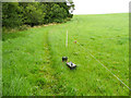 SE2300 : Battery powering an electric fence, Langsett by Humphrey Bolton