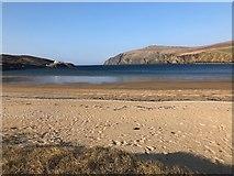 HP6114 : Burrafirth Beach by Philip Cornwall