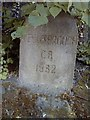 NZ5116 : Old Boundary Marker by A Cairns