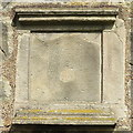 NT2076 : Carved stone on the wall of Lauriston Castle by M J Richardson