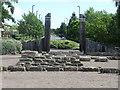 NZ3467 : Entrance, Redburn Dene, North Shields by Geoff Holland