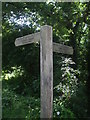 ST6372 : A panoramic walk signpost by Neil Owen