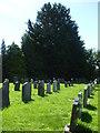 ST6372 : Christ Church graveyard by Neil Owen