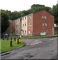 SO2508 : Three-storey housing, Riverside Drive, Blaenavon by Jaggery