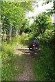 TL4431 : Boundary Marker on Cakebread's Lane ? by Glyn Baker