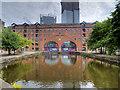 SJ8397 : The Middle Warehouse, Castle Quay by David Dixon