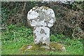 SW4025 : Old Wayside Cross by L Nott