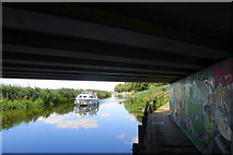 TL4097 : Beneath the A141 (Isle of Ely Way) by Tim Heaton