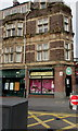 ST3188 : Recently reopened florist, Upper Dock Street, Newport by Jaggery