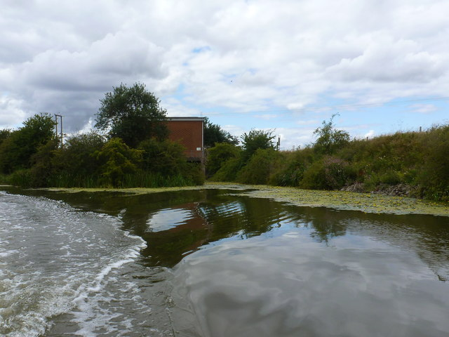 Pumping Station from South Forty Foot Drain