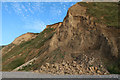 TG1443 : Cliff fall near Sheringham by Hugh Venables