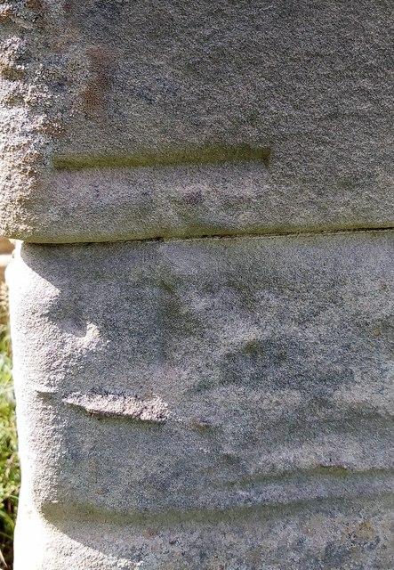 Benchmark on West Lodge, Thornton Park