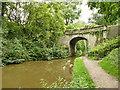 SJ8356 : Portland Drive bridge over the Macclesfield Canal by Stephen Craven