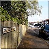 SZ0994 : Moordown: King Edward Avenue by Chris Downer