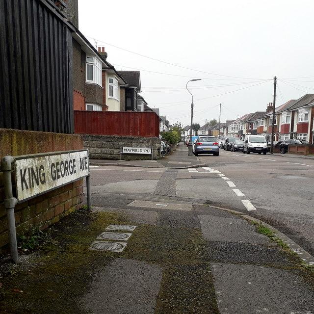Moordown: King George Avenue