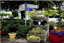 C2502 : Direction signs, Raphoe by Kenneth  Allen